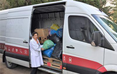 Zamestnanci zlatomoraveckej nemocnice podali pomocnú ruku ľuďom v núdzi