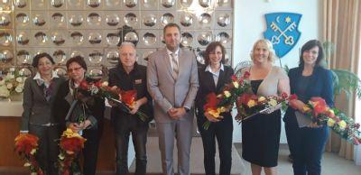 Zdravotníci zo Zlatých Moraviec si prevzali cenu primátora mesta