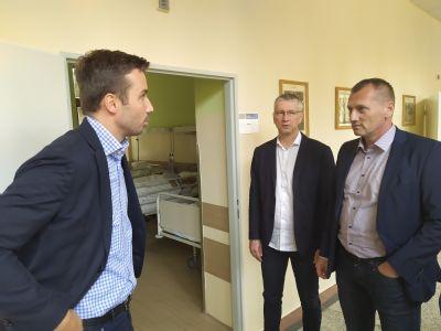V Nemocnici Zlaté Moravce slúži pacientom nové oddelenie dlhodobo chorých