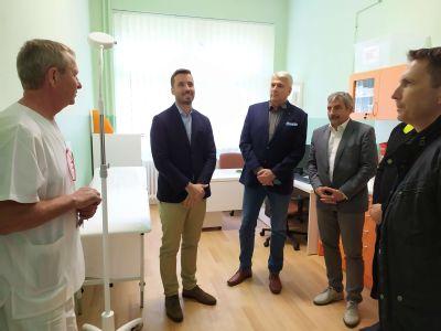 Nemocnica Zlaté Moravce otvorila novú poradňu pre pacientov s chronickými ranami