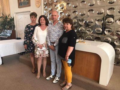Zdravotníci Nemocnice AGEL Zlaté Moravce si prevzali ocenenie primátora