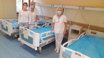 Oddelenie dlhodobo chorých sa za dva roky prevádzky stalo nosným oddelením zlatomoravskej nemocnice. Hospitalizovali tu takmer 540 pacientov